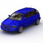 Dodge Caravan (for Wavefront OBJ)