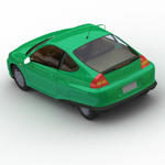 Honda Insight (for Wavefront OBJ)