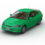 Click to see information about the 'Honda Insight (for Wavefront OBJ)'.