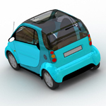 Smart Fortwo (for Wavefront OBJ)