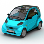 Click to see information about the 'Smart Fortwo (for Wavefront OBJ)'.