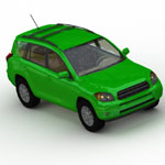 Toyota RAV-4 (for Wavefront OBJ)
