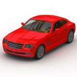 Click to see information about the 'Chrysler Crossfire (for Wavefront OBJ)'.