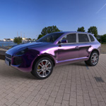 Porsche Cayenne (for Wavefront OBJ)