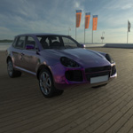 Click to see information about the 'Porsche Cayenne (for Wavefront OBJ)'.