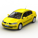 Renault Megane (for Wavefront OBJ)