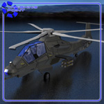 Comanche RAH-66 Helicopter (for Poser)