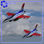 Click to see information about the 'F-16 Falcon (for Poser)'.