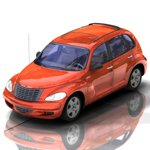 Click to see information about the 'PT Cruiser (for Poser)'.