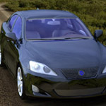 Click to see information about the 'Luxury Sedan Car 2 (for Poser)'.