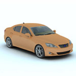 Click to see information about the 'Luxury Sedan Car 2 (for Vue)'.