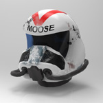 Click to see information about the 'WC Helmet (M4) (for Poser)'.