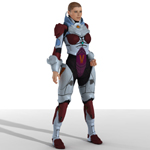 Click to see information about the 'VXM Armor (V4) (for Poser)'.