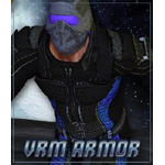 Click to see information about the 'VRM Armor (M4) (for Poser)'.