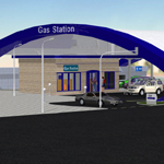 VP Gas Station (for Poser)