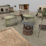 Desert Outpost (for Poser)