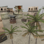 Click to see information about the 'Desert Outpost (for Poser)'.