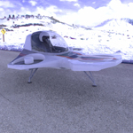 TriFan Hovership (for Poser)
