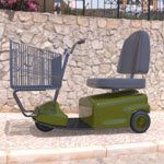 Electric Shopping Cart (for DAZ Studio)