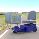 Click to see information about the 'Electric Shopping Cart (for Poser)'.