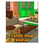 Click to see information about the 'Cuppa Joe Coffee Shop Interior (for iClone)'.