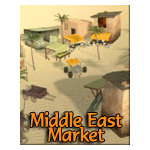 Click to see information about the 'Middle East Market (for iClone)'.