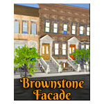 Click to see information about the 'Brownstone Street Scene 1 (for iClone)'.
