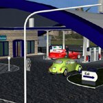 VP Gas Station (for iClone)