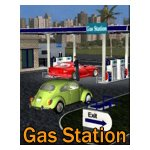 Click to see information about the 'VP Gas Station (for iClone)'.