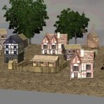 Medieval Village (for iClone)