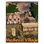 Click to see information about the 'Medieval Village (for iClone)'.