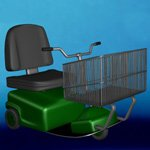 Click to see information about the 'Electric Shopping Cart (for iClone)'.
