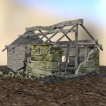 Derelict Buildings (for DAZ Studio)