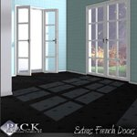 Click to see information about the 'P.I.C.K. French Doors Expansion Set (for Poser)'.