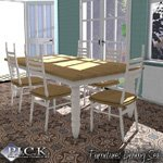 P.I.C.K. Dining Set (for Poser)