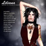 Click to see information about the 'Liliana (V4) (for Poser)'.