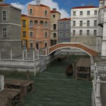 Click to see information about the 'Canal Town (for DAZ Studio)'.