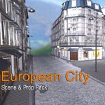 Click to see information about the 'European Street (for iClone)'.