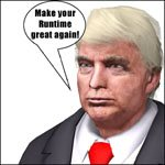 President #45 'ad image'