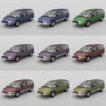 Family Minivan (for DAZ Studio)
