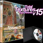 Click to see information about the 'Total Textures V15: Toon Textures'.