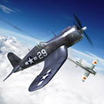 Click to see information about the 'F4U Corsair (for Poser)'.