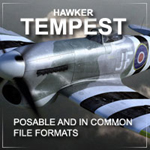 Click to see information about the 'Tempest (for Poser)'.