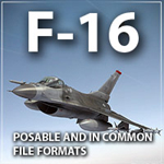 Click to see information about the 'F16 (for Poser)'.