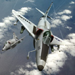 Click to see information about the 'A4 Skyhawk (for Poser)'.