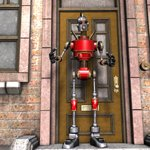 Click to see information about the 'Vintage Robot (for Poser)'.