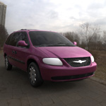 Click to see information about the 'Chrysler Town Country LX Minivan (for Wavefront OBJ)'.