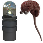 Dodger`s Brain in a Jar (for Poser)