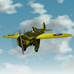 Click to see information about the 'Boeing P-26A Peashooter (for Poser)'.