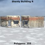 Shanty Town Buildings 2: Set 4 (for Poser)